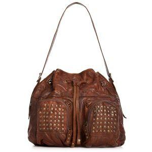 Frye Brooke Studded Drawstring bag